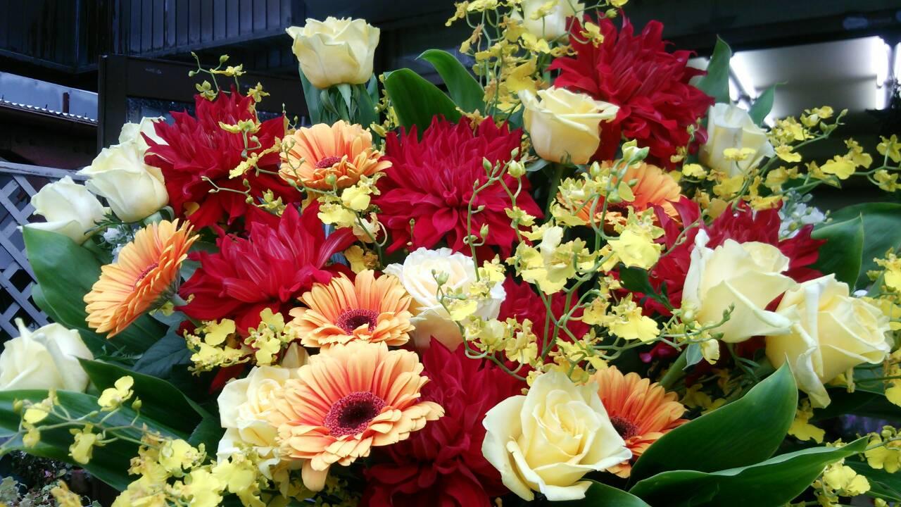 今までお届けしたお花